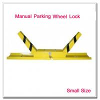 Wholesale Small Size K Shape Manual Car Parking Wheel Lock Car Stopper Block Parking Lot Space Lock from china suppliers