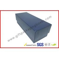 Wholesale HI Glossy Leather paper lid and base box with black / grey FOAM inner from china suppliers