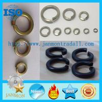 Wholesale Black/Zinc Plated Spring Washer,Spring washer,Spring steel washer,Zinc galvanized spring washer from china suppliers