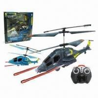 Wholesale 3.5-channel I/R Military Missile Shooting Helicopter with GYRO and 160mAh Li-poly Battery from china suppliers