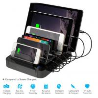 Multi usb charger 7 port charging station for cell phone - Multi chargeur usb ...