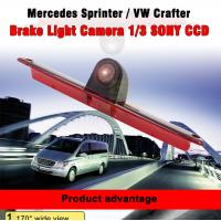Wholesale Brake Light Car Rearview Camera System With 1/3 SONY CCD Chips / 170 Degree from china suppliers