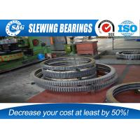 Wholesale Single Row Industrial Turntable Bearings For Port / Marine Machinery from china suppliers