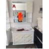 Buy cheap Simple 15mm PVC Board White Bathroom Vanity 550*330mm ISO2000 from wholesalers