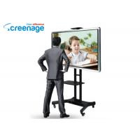 Wholesale Office Furniture Free Standing Sliding Smart Board Touch Screen Lcd Pc Interactive Whiteboard from china suppliers