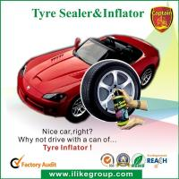 Wholesale Tubeless Car Tire Sealant / Motorcycle Tire Sealer And Inflator 450ml / 650ml from china suppliers