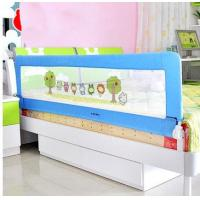 Wholesale Blue Cartoon Childrens Bed Guards , Safety Toddler Bed Railing from china suppliers