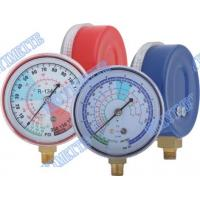 Quality Refrigeration Freon Pressure Gauge For Testing / Recharging Pressure Thermometer for sale