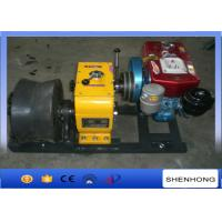 China 50KN Diesel Wire Rope Winch / Belt Driven 400MM Diameter Cable Drum Winch on sale