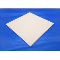 Wholesale High Strength Yellow 99% Al2o3 Alumina Ceramic Thin Plate / Weiqi Board Chessboard from china suppliers