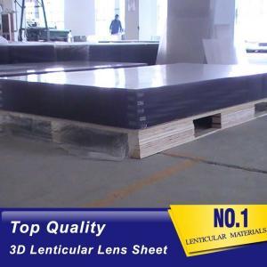 Wholesale Wholesale 12LPI lenticular lens sheet 3d lenticular plastic materical large size lenticular sheet lens manufacturer from china suppliers