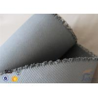 Wholesale 1550G 1.5MM Thermal Insulation Materials Grey Silicone Coated Fiberglass Fabric from china suppliers