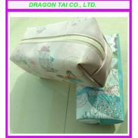 Wholesale High quality leather makeup bag from china suppliers