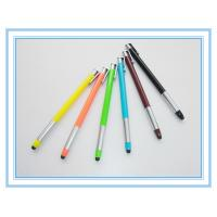 Wholesale retractable plastic stylus pen, click touch promotion pen from china suppliers