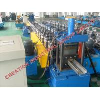 Wholesale Automatic Metal Door Frame Making Machine With Cr12 Mould Steel Rollers from china suppliers