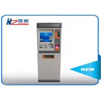 Wholesale Touch ATM kiosk floor standing payment terminal with cash deposit acceptor from china suppliers