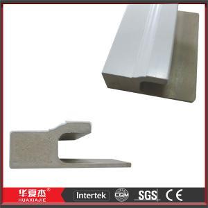 Wholesale White WPC Door Mouldings Exterior Door Trim 5.412m WPC J - Channel For Door from china suppliers