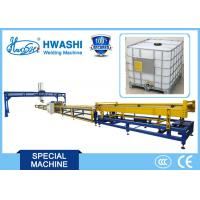 Wholesale Fully Automatic IBC Container Tank Tote Frame Welding Machine from china suppliers