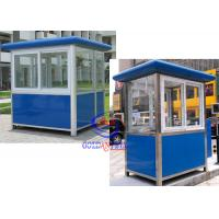 Wholesale Thermal Insulated Prefabricated Security Guard Room with electricity fittings from china suppliers