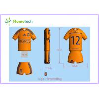 Wholesale Personalized Customized USB Flash Drive TIGRES football team poolo shirt Cartoon USB memory from china suppliers