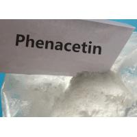 Wholesale 99.6 Purity Pharmaceutical Grade Fenacetina Phenacetin CAS 62-44-2 for Pain-Relieving from china suppliers