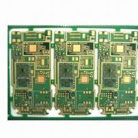 Wholesale PCB with 1.6mm, 1oz Copper Thickness, Immersion Gold Finish, Used for Telecom from china suppliers