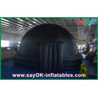 Wholesale Black Igloo Giant Inflatable Planetarium Dome Architecture For School Teaching from china suppliers