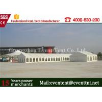 Wholesale Glass Wall Panel Custom Sport Event Tent , Heavy Duty Tent With 600 Square Meters from china suppliers
