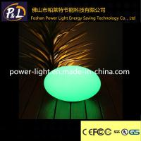 Wholesale 20cm Waterproof Floating Pool Stone Light Led Oval Lamp from china suppliers