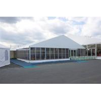 Wholesale Permanent Tent Structures Glass Wall Outdoor Exhibition Tent with PVC Opaque Cloths from china suppliers