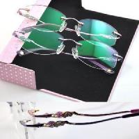 Wholesale Rimless Crystal Woman′s Eyewear (1004) from china suppliers