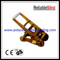 Wholesale 75mm 10 ton Long Handle webbing Buckle for ratchet tie down strap from china suppliers