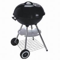 Wholesale 22-inch Big Charcoal Kettle BBQ Grill, Adjustable Height Kettle Barbecue Grills from china suppliers