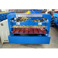 Quality 1250 mm Galvanized Sheet Metal Roll Forming Machines 5.5kw Power for sale