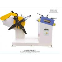 Quality UL-200 Mechanical Press Equipment 2 In 1 Uncoiler And Straightener Manual / Hydraulic for sale