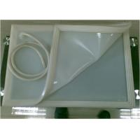 Quality Middle Tear Resistant Silicone Membrane , Silicone  Sheet for Glass Vacuum Laminator for sale
