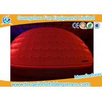 Wholesale Giant Inflatable Igloo Tent Led Lighting With Oxford Cloth Material from china suppliers