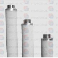 High Temperature Nickel Alloy Filter Cartridge High