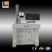 Wholesale Deep Mark Cable Fiber Laser Marker Machine For Gold , Silver , Stainless steel from china suppliers