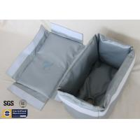 Wholesale Fiberglass Thermal Insulation Materials Removable Jacket Grey 260℃ 25MM Grey from china suppliers