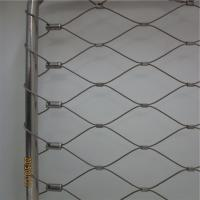 Wholesale Custom made inox cable mesh to suit your balustrade, railing or architectural application from china suppliers