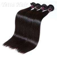 Wholesale Soft 20 Inch Indian Remy Hair Extensions , Straight Hair Weave No Mixture from china suppliers