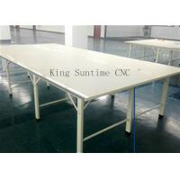 Wholesale Stainless Steel Edge Fabric Spreading Table , Garment Cutting Table Processing Customization from china suppliers