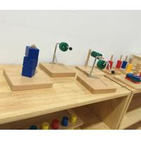 Wholesale Tiger Montessori -Horizontal Dowel Variation - Serpentine made of RUBBER wood with metal for toddler and infant from china suppliers
