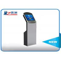 Buy cheap Free stand social media lobby kiosk for ticketing dispenser and payment from wholesalers