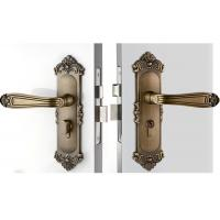 Wholesale High Hardness Room Mortise Door Lock Antique Bronze Zinc Alloy Entracne Handle Lock from china suppliers