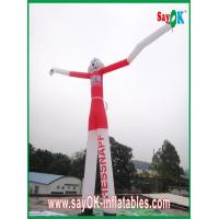 Wholesale Wind Resistant Inflatable Funny Cat Air Painting Dancer 6M Tall With CE Blower from china suppliers