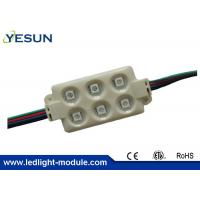Wholesale RGB 5050 SMD Led Downlight Module , 1.44W High Lumen Sign Led Modules 5 Years Warranty from china suppliers