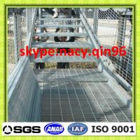 Wholesale construction material steel grid walkway grating from china suppliers