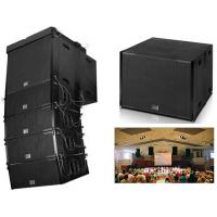 Wholesale 130 DB 1200 Watt Church Sound Systems Flying Subwoofer Single 18 Inch from china suppliers